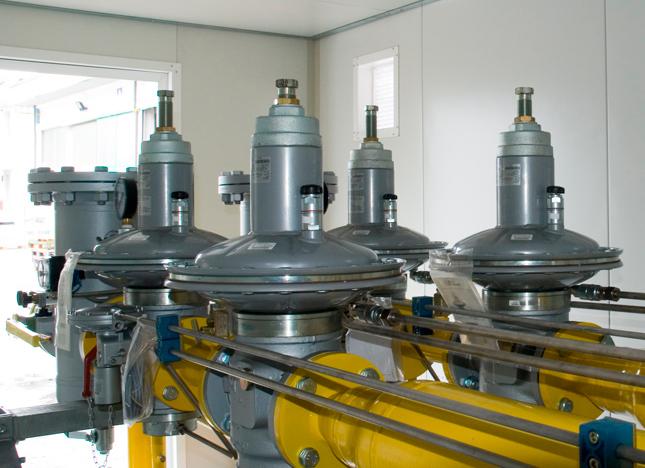 Регулятор давления газа Norval