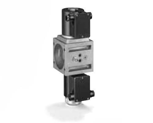 2-х ступенчатый газовый электромагнитный клапан VS